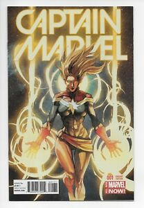 Captain-Marvel-1-Yu-Variant-Cover-RARE-NM