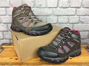 Karrimor Mid Bodmin Boots Walking Iv Grey Uk Pink Ladies Hiking 37 Dark Eu 4 pxpTzn68