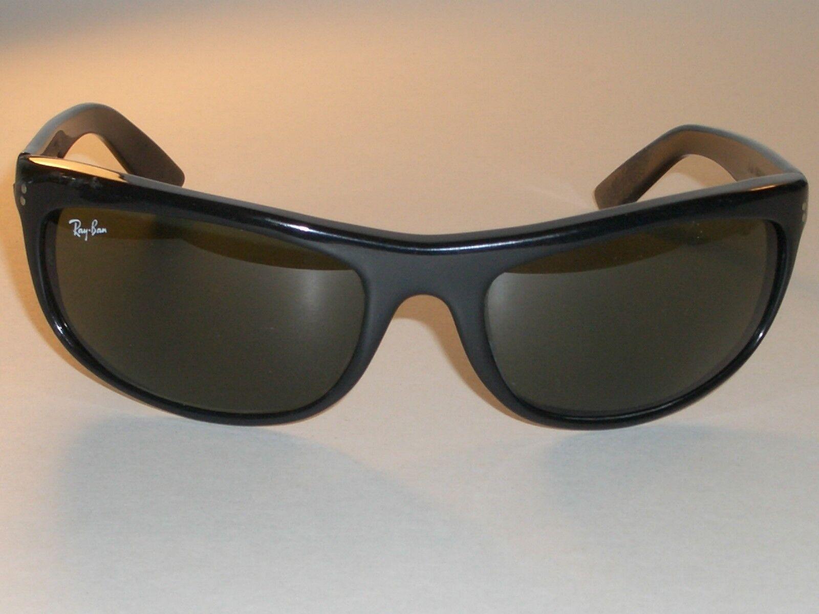 46fccafeea Vintage Bausch   Lomb Ray-Ban L2870 Black Ebony G15 UV BALORAMA Wrap  Sunglasses for sale online