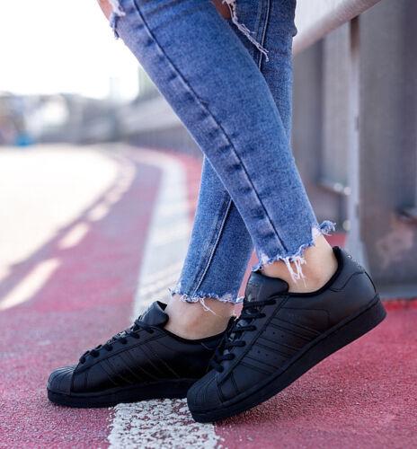 Uk Adidas Black Taglie 3 5 ® e Originals 5 Superstar Foundation 5 Novità Triple wrqnHYrIX7