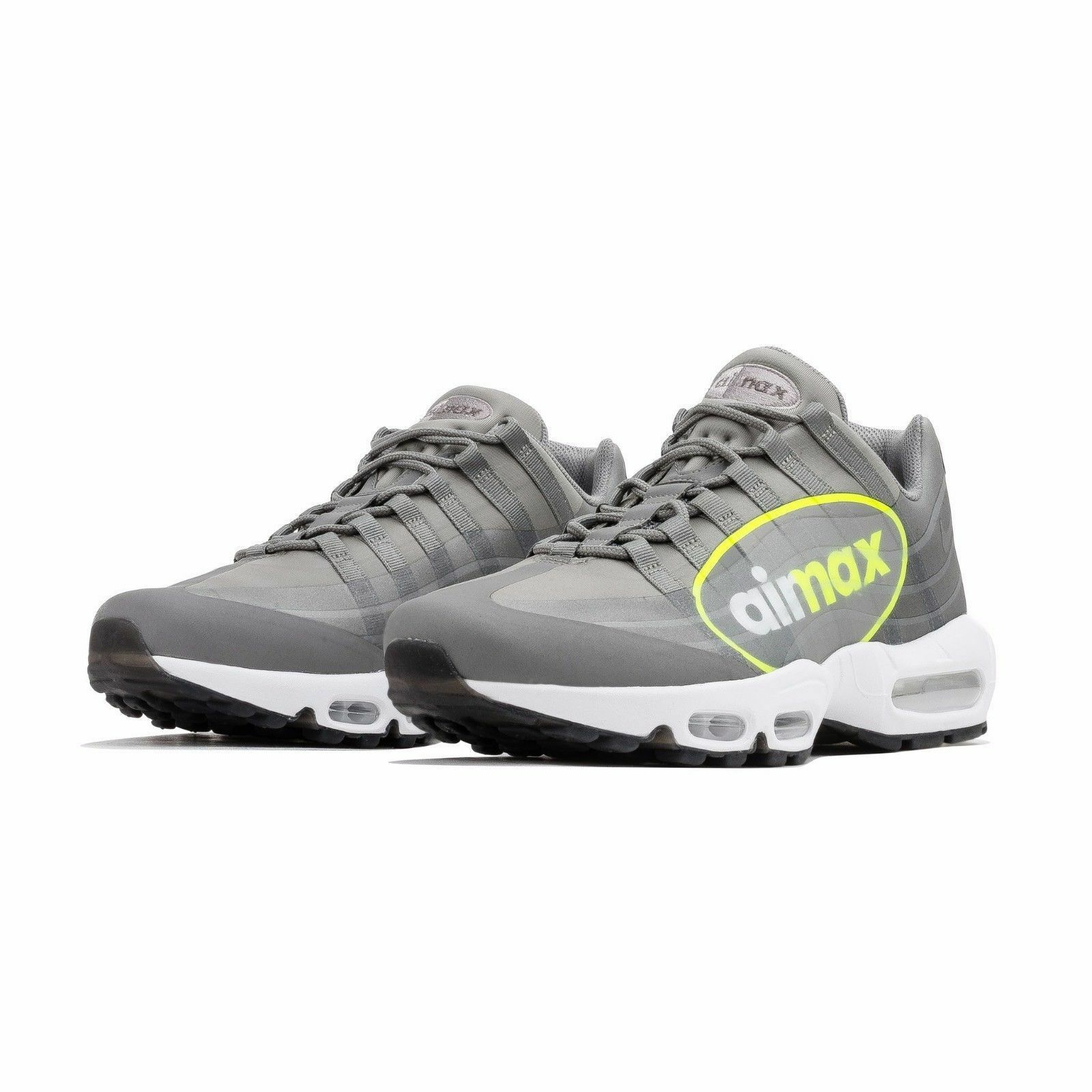 NIKE AIR MAX 95 NS GPX MEN'S SHOES SIZE  14 DUSTY VAULT DARK PEWTER AJ7183 001