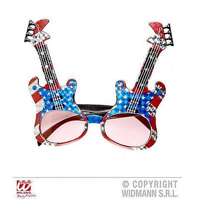 KöStlich Neue Neuheit Gitarre Sonnenbrille Rock Sart Kostüm Lustig Zubehör