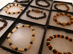wholesale-9-pcs-handmade-wooden-wood-bracelets-with-display-jewelry-box