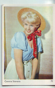 Carte Gum Card -portrait Connie Stevens - No 71 De La Serie Nlcqgter-07233722-424705628