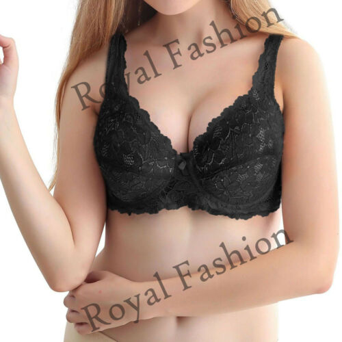 Women/'s Ladies Full Coverage Cup Lace Underwired Support Comfort Adjustable Bra