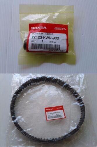 Honda PCX125 PCX150 Roller Weight and Drive Belt Set 2009-2014