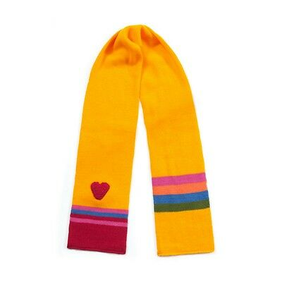 Promo Kidorable Kid Knitted Heart Girl Warm Scarf Childrens Knitwear Scarves