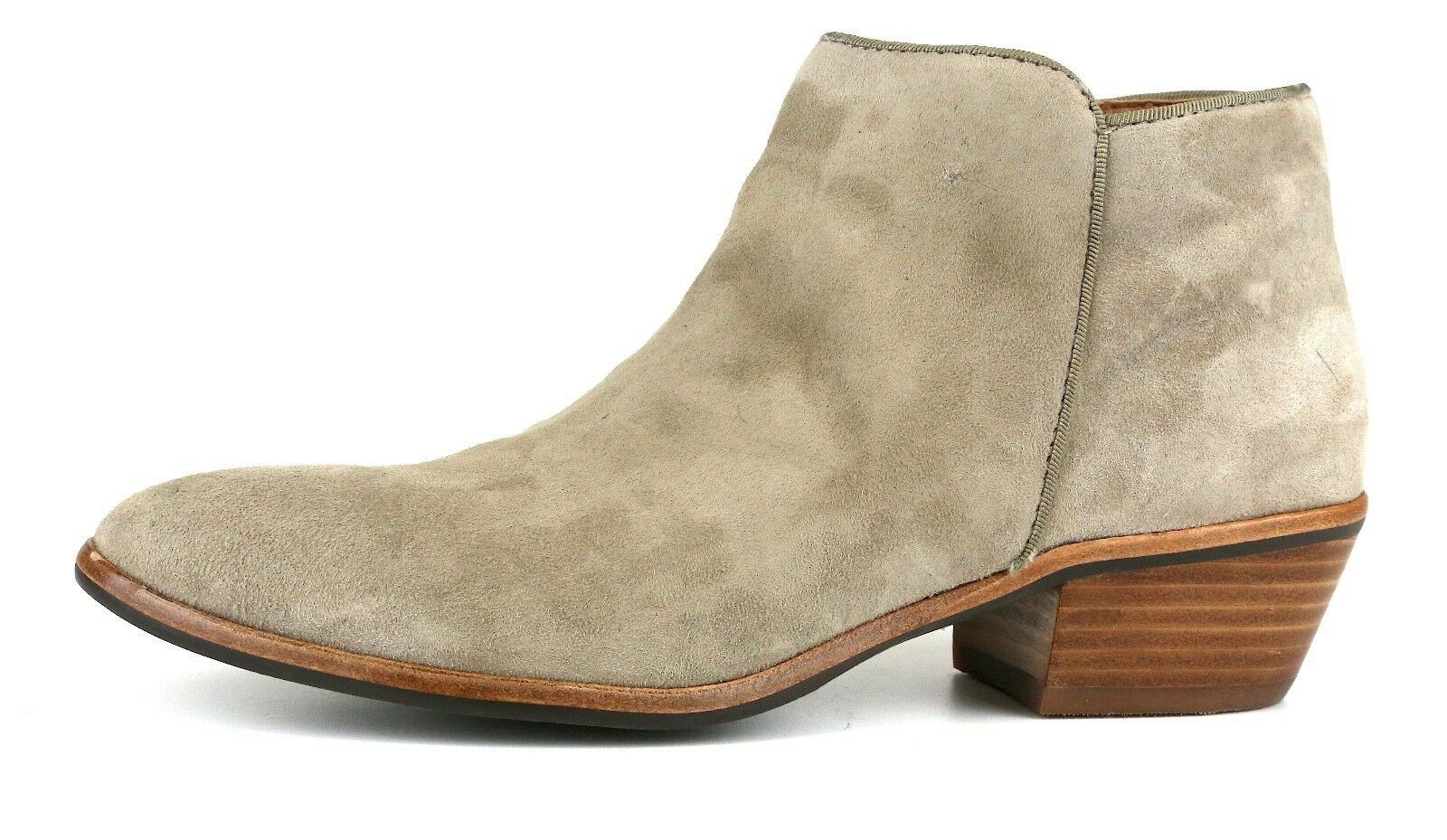 Sam Edelman Petty Chelsea Suede Boot Grey Women Sz 6 M 5465