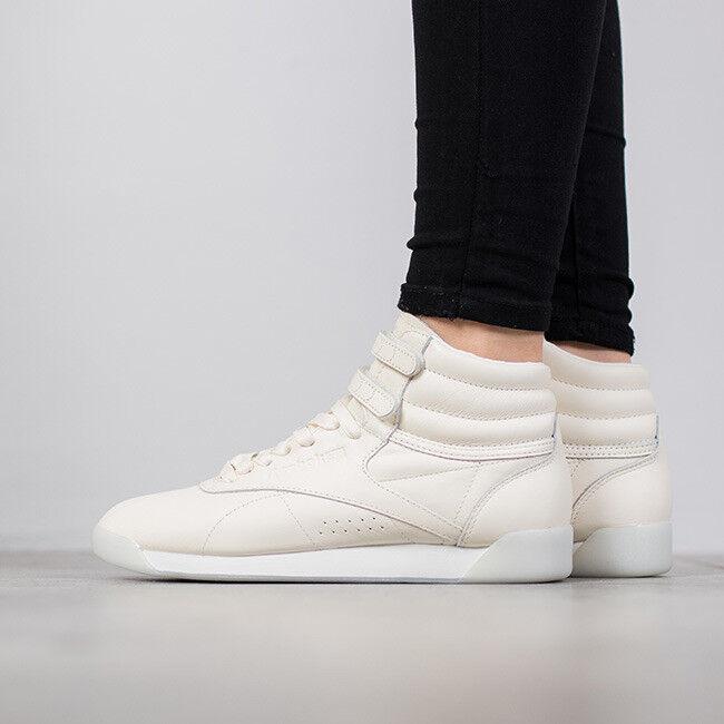 "BD3569 Reebok x FACE Stockholm Freestyle Women Hi 35"" Peace Sneaker shoes"