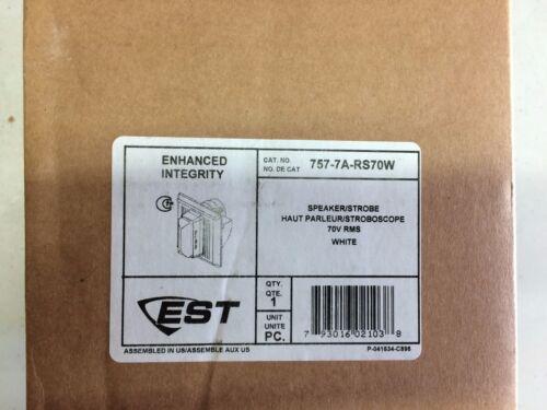 EDWARDS 757-7A-RS70W -SPEAKER//STROBE -15//75 CD NEW WHITE 70V