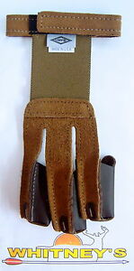 Neet Archery Products -Shooting Glove - Tan Suede - Small-60141