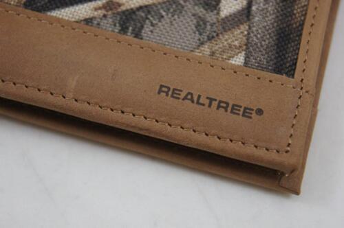 ZEP PRO SALTWATER REDFISH Drum Realtree MAX 5 Camo Bifold Wallet Tin Gift Box