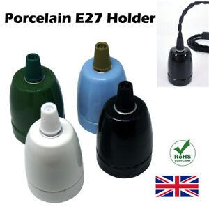 Titular-de-la-bombilla-E27-Vintage-Industrial-Retro-Edison-Lampara-de-luz-de-montaje-de-Porcelana