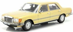 MB Mercedes Benz 450 SEL 6.9 - W 116 - goldmetallic - iScale 1:18