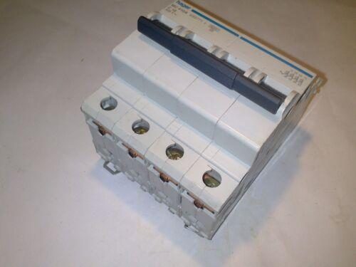 HAGER MC 410A C 10 10 A 4 POLOS 433771 MAGNETOTERMICO CIRCUIT BREAKER ***