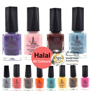 Halal Nail Polish With Henna Wudhu Friendly Breathable Water