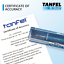 "CERTIFIED Tanfel 1/""-32 UN-2B Taperlock GO NOGO Thread Plug Gage Gauge"
