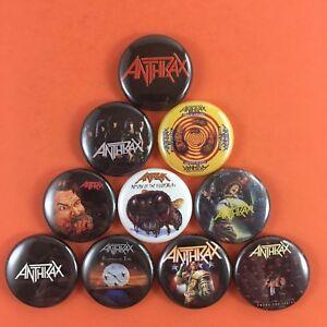 Anthrax-1-034-PIN-BUTTON-Lot-Heavy-Metal-Thrash-Among-the-Living