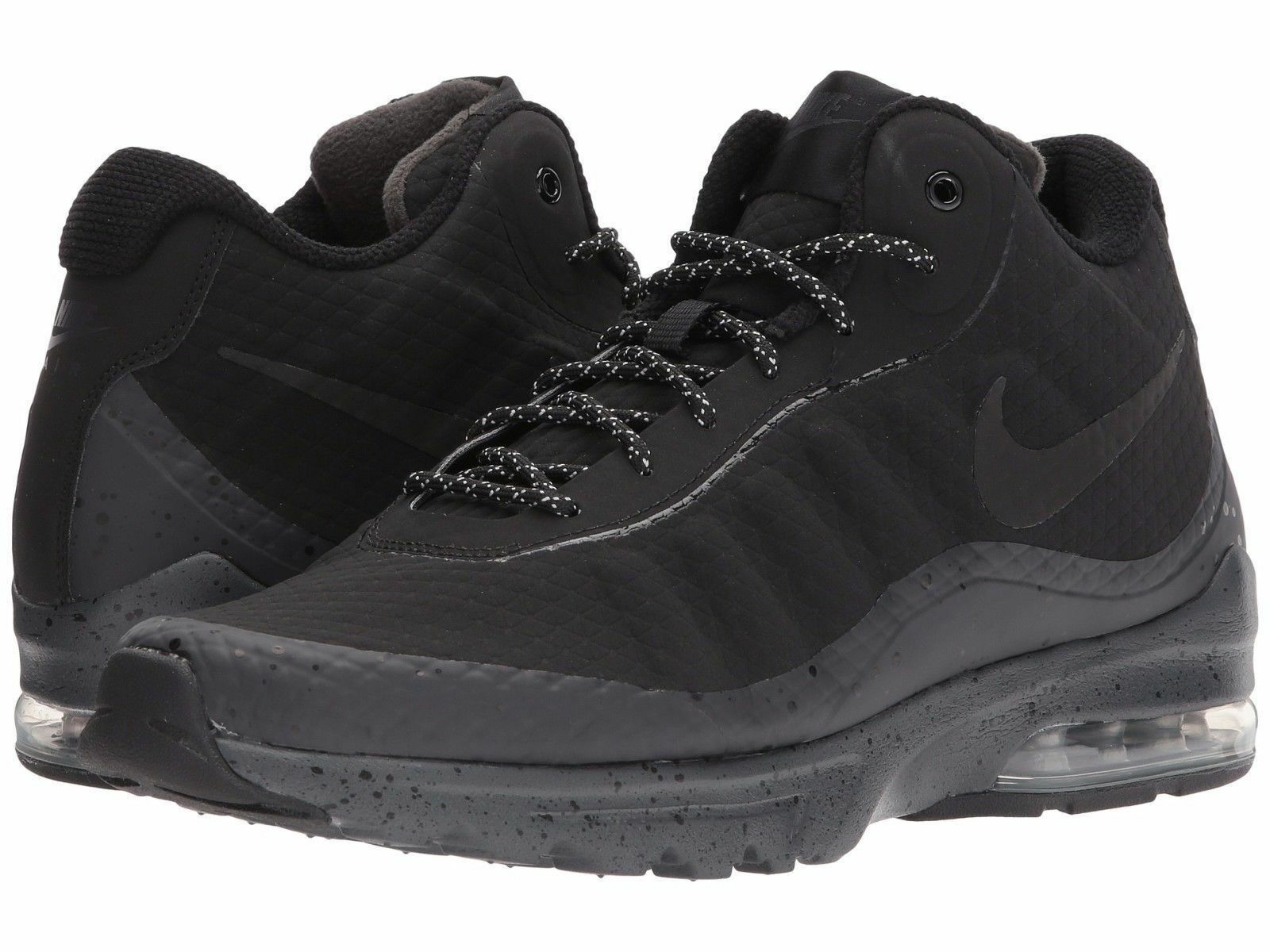 NIKE AIR MAX INVIGOR MID RUNNING MEN SHOES BLACK 858654-004 SIZE 9.5 NEW