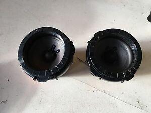 bmw e46 coupe harman kardon porte arri re carte haut parleurs tweeter paire 8368245 ebay. Black Bedroom Furniture Sets. Home Design Ideas