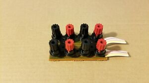 Kenwood KR-6050 receiver speaker terminals jacks connectors
