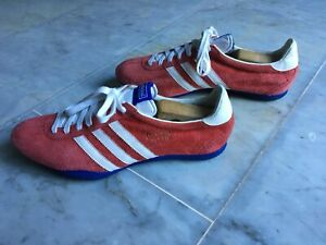 Details about Adidas Titan Vintage Sneaker Suede Red Red Fits Size 46/11 worn once- show original title