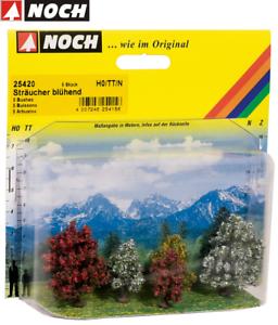 NOCH-25420-Shrubs-Flowering-3-4-CM-High-5-Piece-New-Boxed