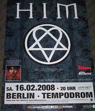 "HIM ""Venus Doom"" Tour Poster Berlin 16.02.2008"