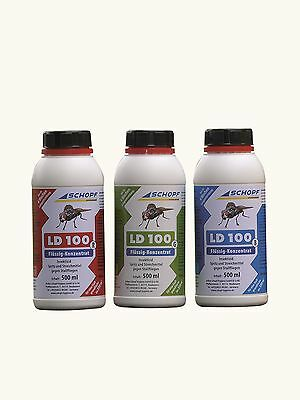 Schopf LD 100 Grün 500ml Stallfliegenmittel Permethrin gegen Stall Fliegen 350m²