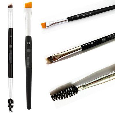Stylish Double Sided Ended Eyebrow Makeup Wand Brow Shaping Angled Eyelash Brush
