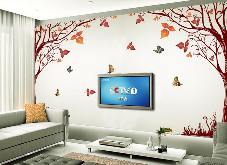 3D Schmetterling 9864 Tapete Wandgemälde Tapete Tapeten Bild Familie DE Summer