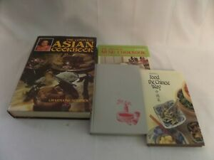 Japanese, Chinese, Asian lot of cookbooks