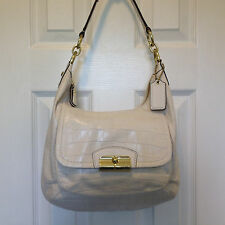Coach Kristin Embossed Exotic Leather with Crocodile imprint F22925 Hobo Handbag