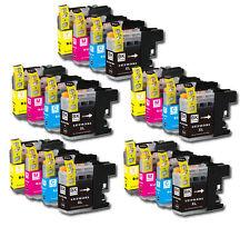 20 PK Printer Ink Set + Chip for Brother LC201 MFC-J680DW MFC-J880DW MFC-J885DW