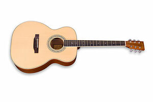 zager easy play zad50 om size acoustic guitar rated in the top 2 of guitars ebay. Black Bedroom Furniture Sets. Home Design Ideas