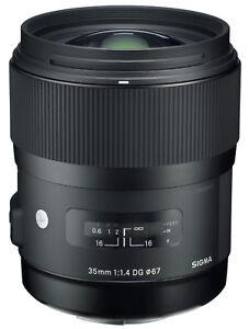 Sigma 35mm f 1.4 DG HSM Art Weitwinkel Objektiv für Nikon