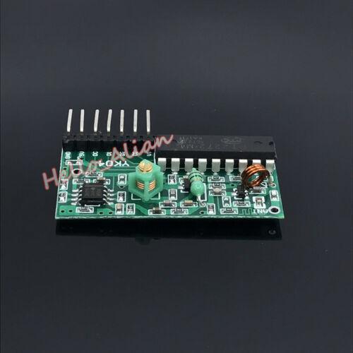 DC 5V 4CH canal inalámbrico de control remoto de RF Interruptor de Relé Tablero de módulo de receptor