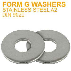 M18-18mm FORM A WASHERS FLAT WASHERS A2 304 STAINLESS STEEL DIN 125