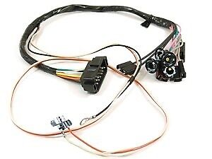 1968 camaro console wiring harness manual w console gauges ebay. Black Bedroom Furniture Sets. Home Design Ideas