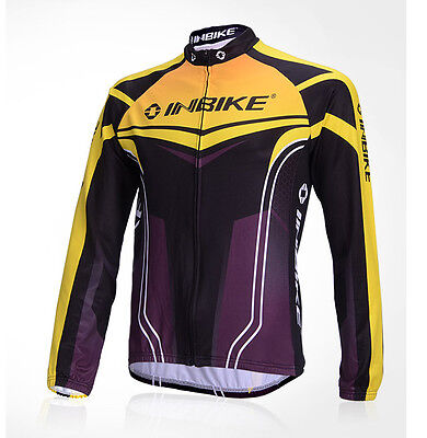 INBIKE Cycling Bike Long Sleeves Jersey Outdoor Sports *Top Only* IA387 LJ