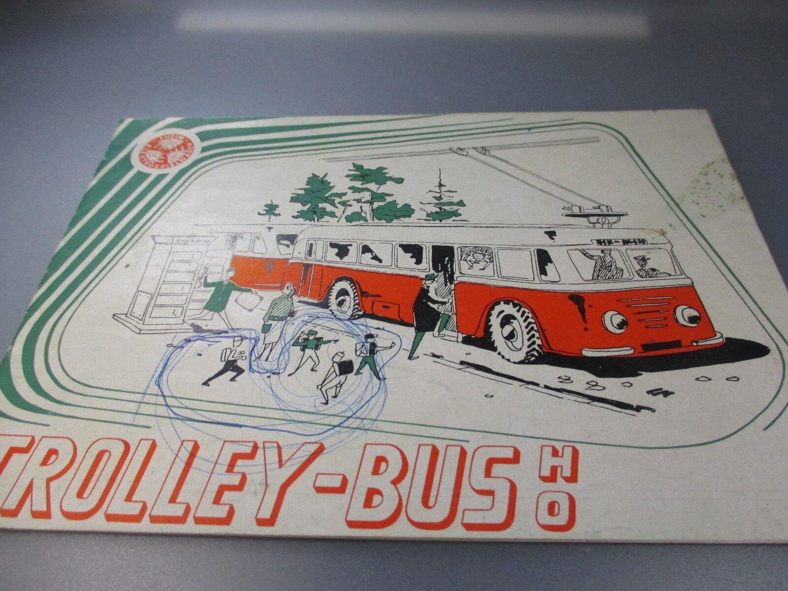 EHEIM TROLLEY BUS bildpreisliste catalogue (gk110)