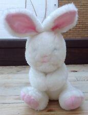 Vintage Kellogg's White Bunny Rabbit Plush Stuffed Animal Promo Sitting Cereal