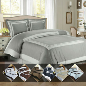 Hotel-Luxury-Duvet-Cover-Set-Ultra-Silky-Soft-Cotton-Top-Quality-with-Shams