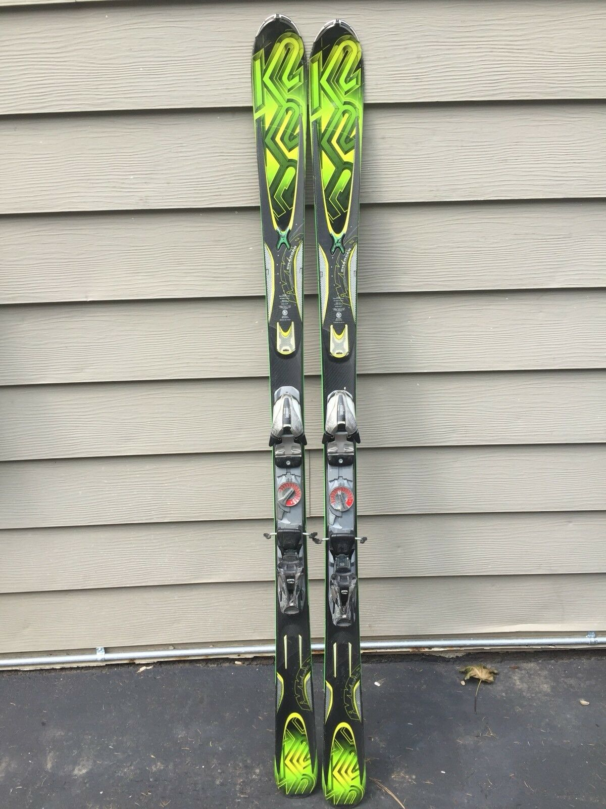 K2 AMP Charger 174 cm Skis w  Marker 9.0 Speed Point Demo Bindings