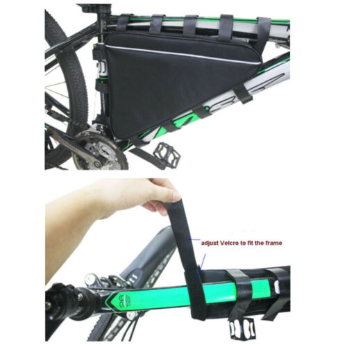 57 cm Mountain vélo Triangle Tube Cadre Sac Outil Étui Housse Pour Batterie