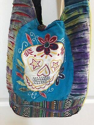 #1 Gift Nepal Hobo Bag Boho Purses Nepali handmade Tie dye Hippie Cotton bag