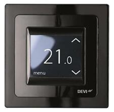 DEVIreg Touch Thermostat Black DEVI UNDERFLOOR TILE HEATING