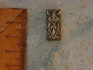 Messingornament-Ornament-Buchbinden-Praegen-Praegestempel-Handvergolden-Dekoration