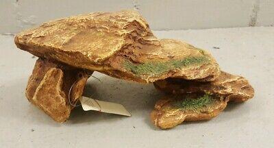 Geschickt Neu Aquarium Deko Dessert Sm 28,5×16,5×10,5 Cm Europet Bernina Decor Ruine Fels