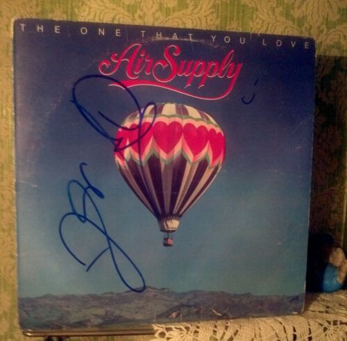 """Air Supply""/The One That You Love!...signed Album!"